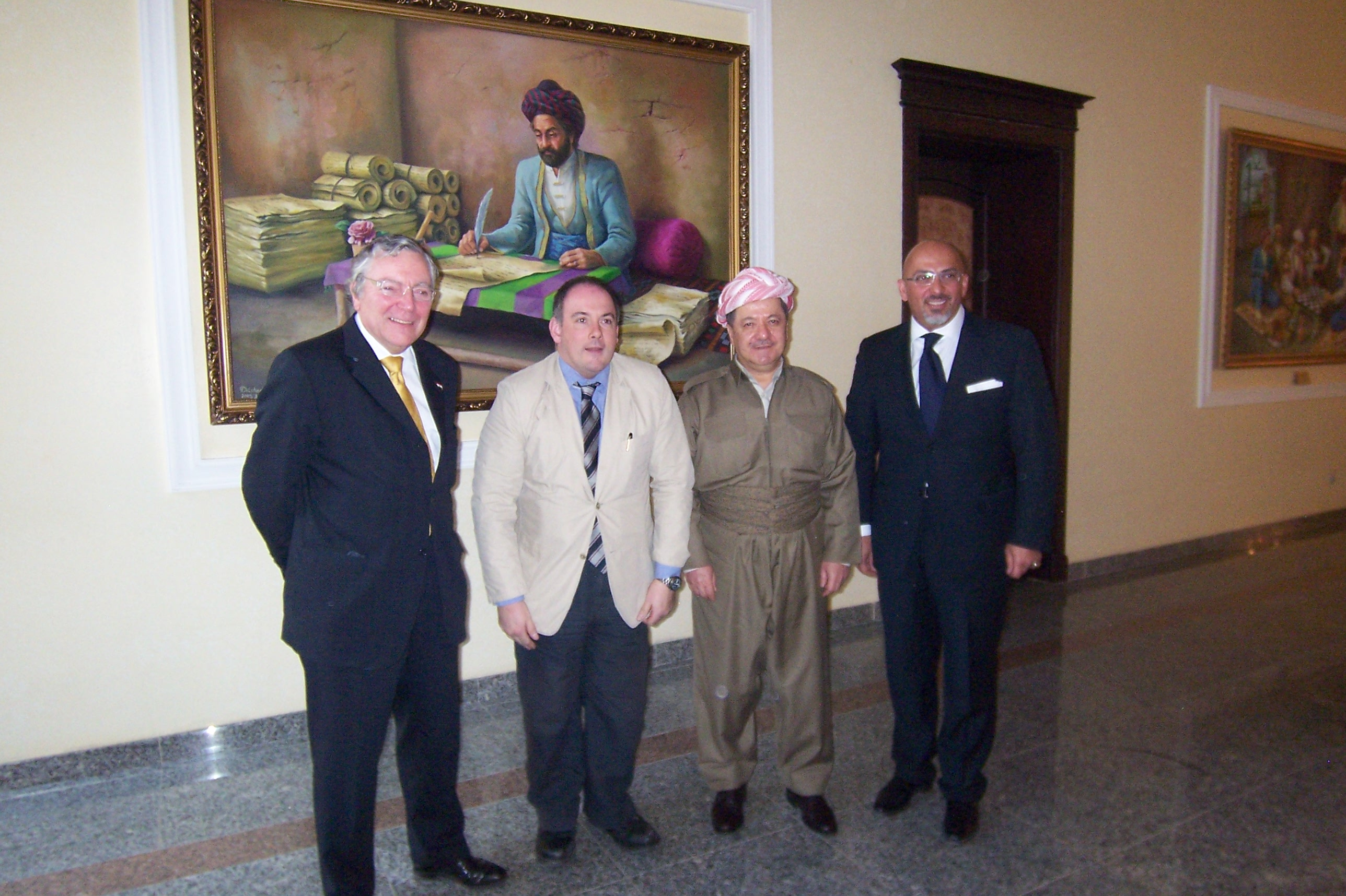 The All Party Parliamentary Group on Iraqi Kurdistan Group meets President Barzani