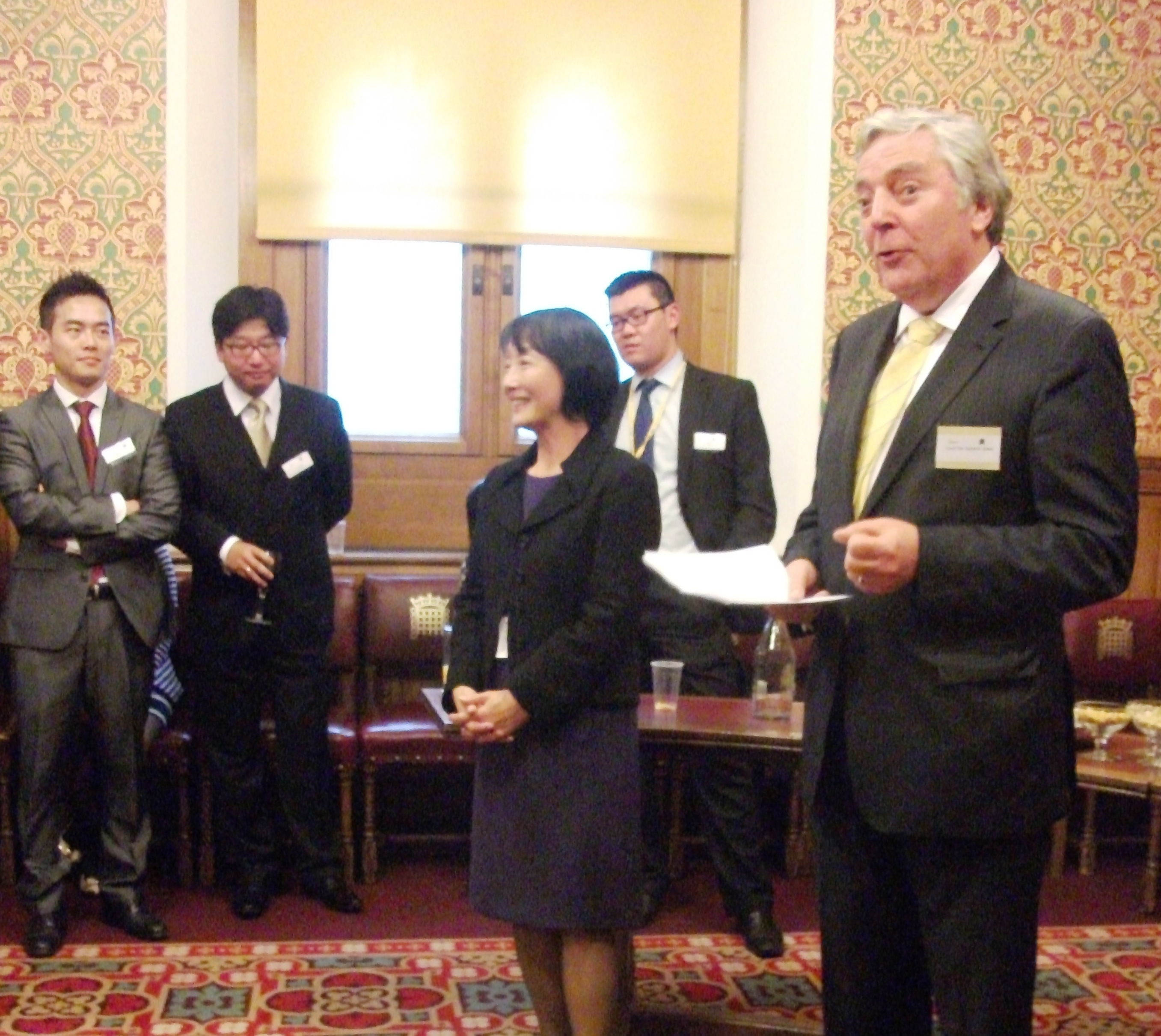 An East West Chinese Lib Dem evening at the Lords