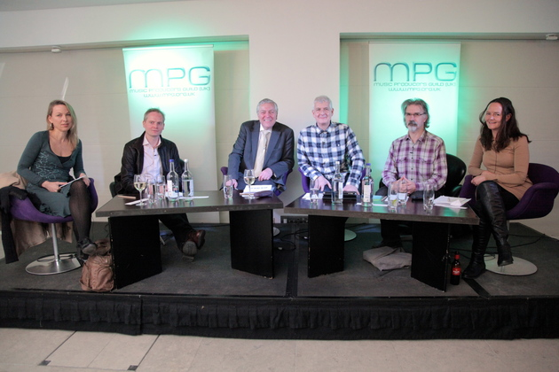 At the Music Producers Guild Panel